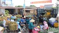 Giá vải VietGAP tại Phúc Hòa (Tân Yên) dao động từ 35-37 nghìn đồng/kg