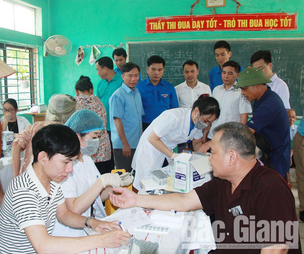 Bắc Giang, Hội thầy thuốc trẻ, ngày hội thầy thuốc trẻ làm theo lời Bác, tình nguyện vì cộng đồng