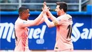 Messi lập cú đúp, chạm một tay vào Giày vàng châu Âu