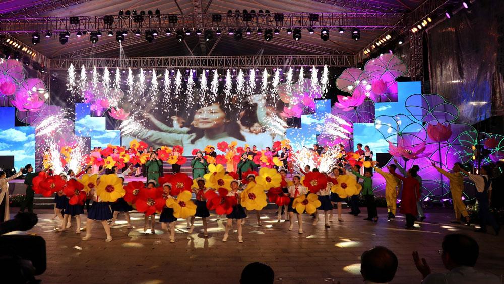 Bế mạc, tổng kết, Lễ hội Làng Sen năm 2019