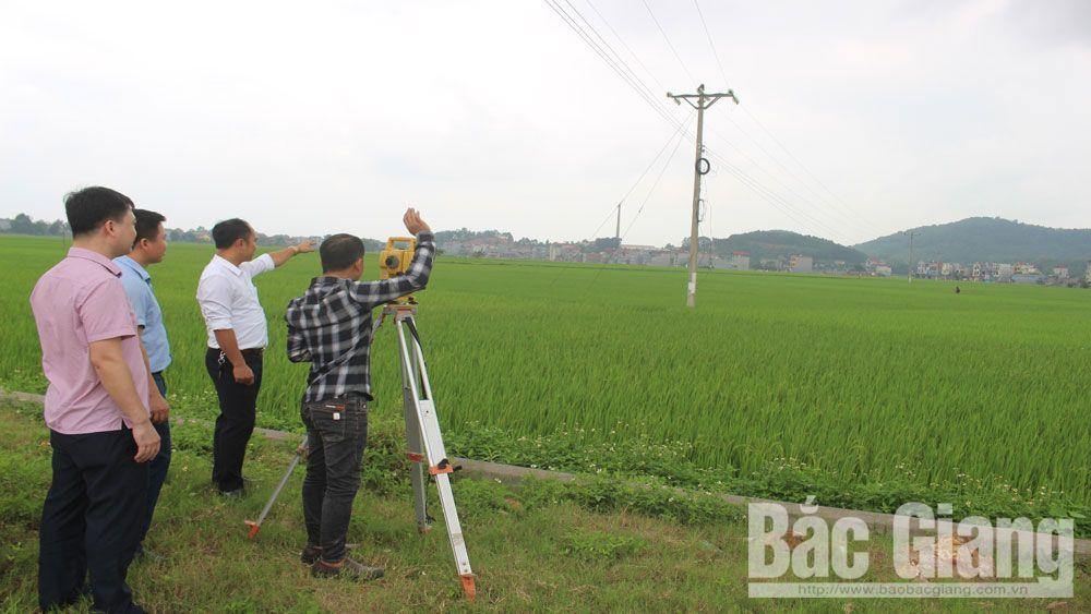 Sở Tài nguyên và Môi trường (TN&MT) tỉnh Bắc Giang, Đo đạc bản đồ địa chính,