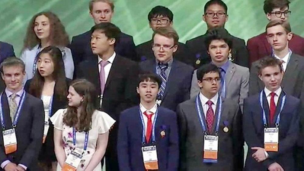 Việt Nam giành giải Ba tại Hội thi khoa học kỹ thuật quốc tế - Intel ISEF 2019