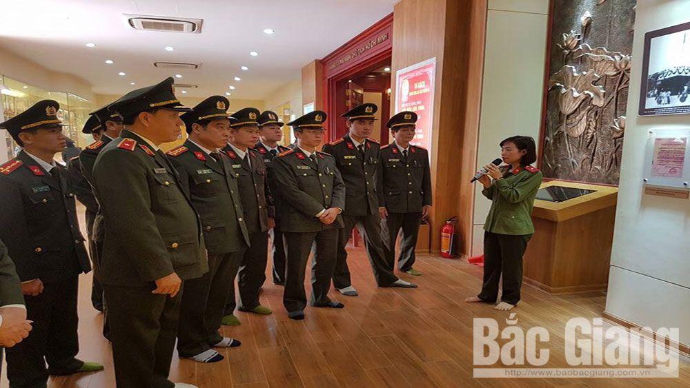 Khu lưu niệm Sáu điều Bác Hồ dạy Công an Nhân dân, hôn Chùa Nguộn, xã Nhã Nam (Tân Yên), Sáu điều Bác Hồ dạy công an nhân dân