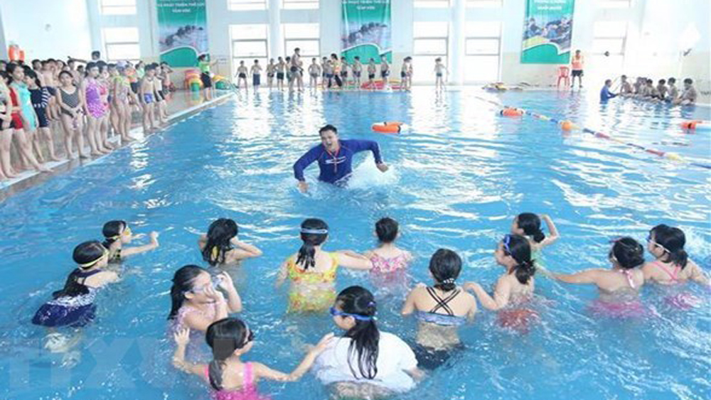 Swimming lessons key to stop children drowning