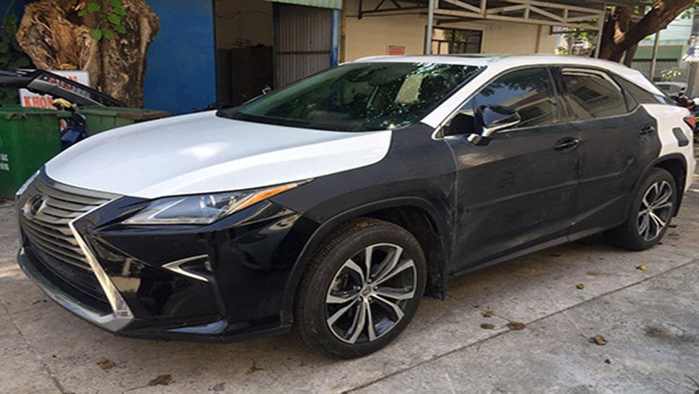 Tài xế mất trộm xe Lexus, giữ chìa khóa, xe Lexus RX 350,  Lê Văn Tùng, Vi Quang Vinh