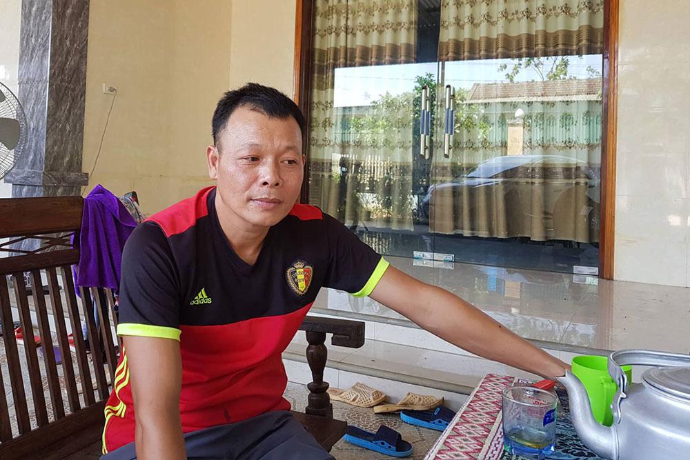 Nạn nhân, thùng bê tông, quê Nghệ An, dạy Pháp luân công, ông Trần Đức Linh,