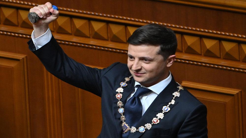 Tân Tổng thống Ukraine, tuyên thệ nhậm chức,