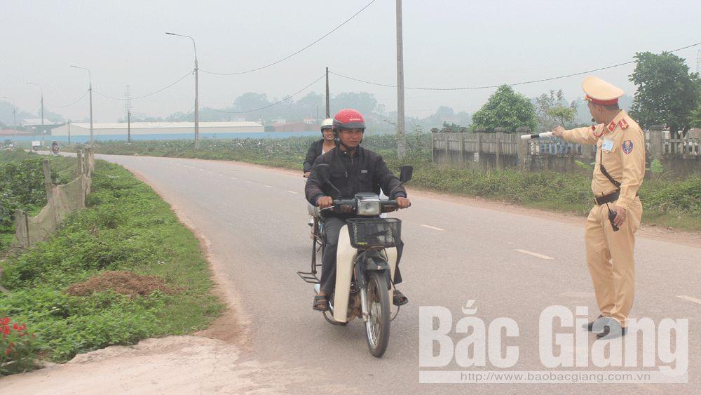 Vải thiều Bắc Giang an toàn giao thông; Vải sớm Phúc Hòa, Công an huyện Tân Yên