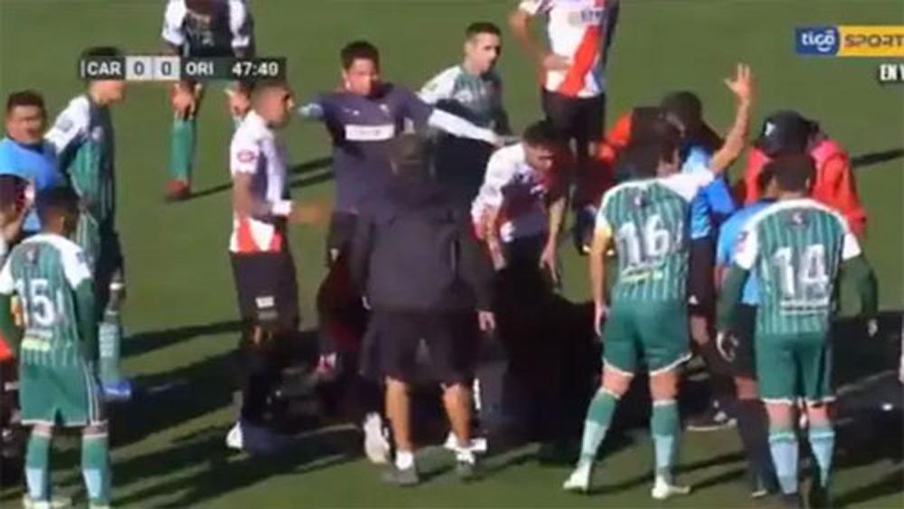 Trọng tài tử vong, Bolivia, điều khiển trận đấu