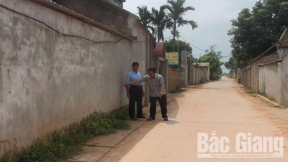 Đảng viên nêu gương xây dựng nông thôn mới