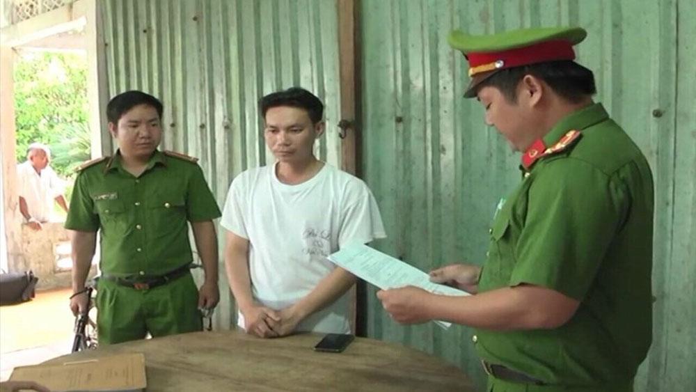Đánh con thương tật 14%, cha ruột bị bắt, Huỳnh Văn Út