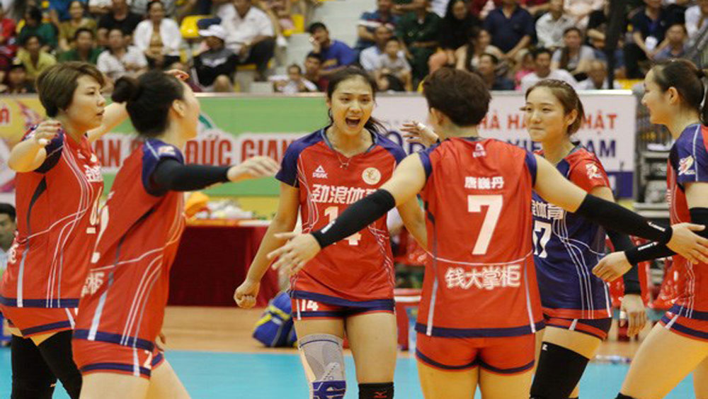 Sichuan, Binh Dien Cup 2019, women's volleyball tournament, Sichuan club, Chinese team, individual prizes, Miss VTV Cup