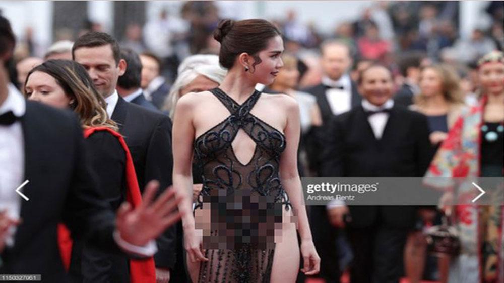 Bộ Văn hóa, lên tiếng, việc người mẫu Ngọc Trinh mặc phản cảm ở LHP Cannes, Ngọc Trinh