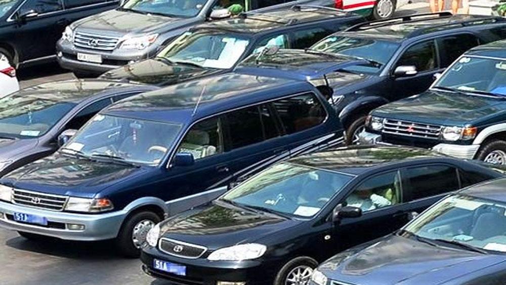 Chính phủ, giảm một nửa xe công, năm 2020,  thu hồi nhà công vụ