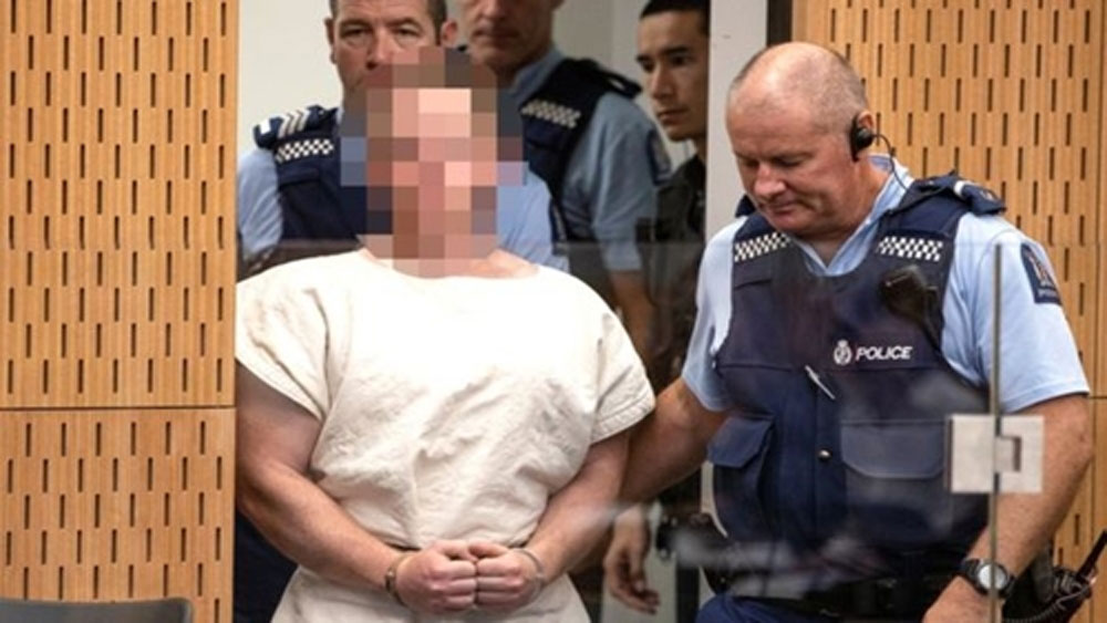 Kẻ xả súng ở New Zealand, bị truy tố, tội khủng bố