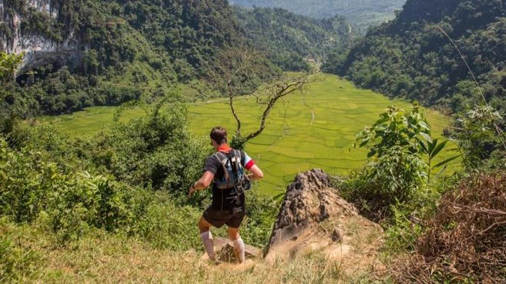 Vietnam Jungle Marathon 2019, Pu Luong Nature Reserve, ancient jungle, limestone peaks, vibrant rice paddy fields, ethnic minority villages