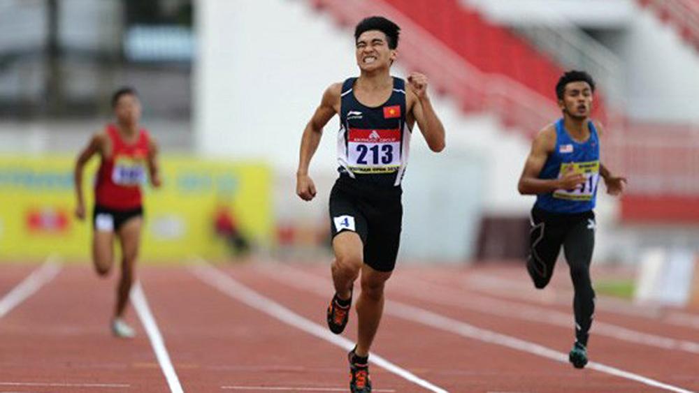 Vietnam, gold medals, Thailand Open Track and Field Championships, Vietnamese sprinter, Tran Dinh Son, long jumper, Nguyen Tien Trong