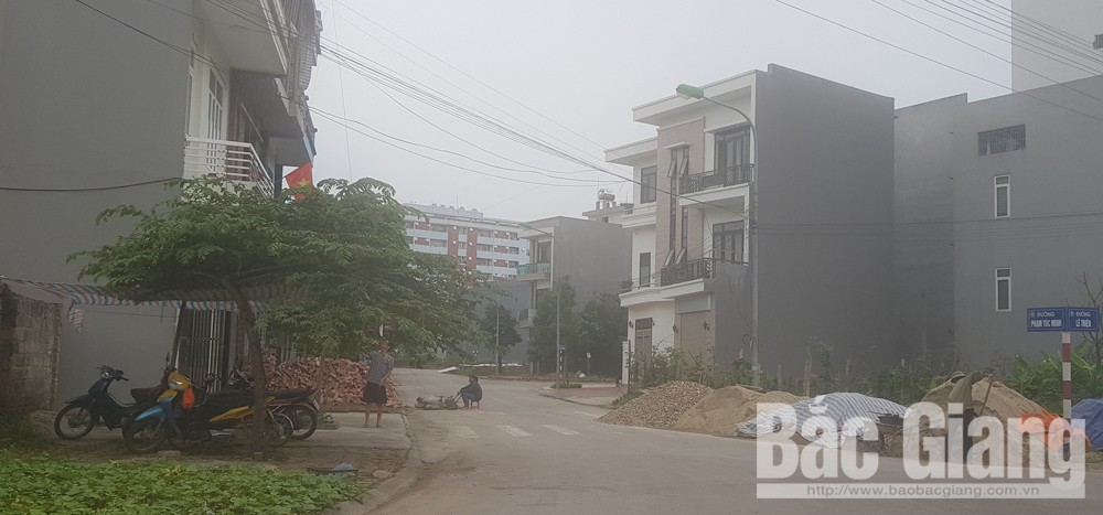 Lấn chiếm hạ tầng thoát thải, úng ngập đô thị, úng ngập tại thành phố Bắc Giang, thành phố Bắc Giang