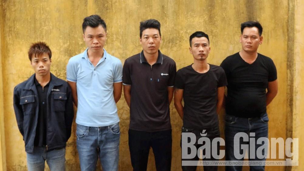 Trộm cắp tài sản, Công an huyện Việt Yên, Bắc Giang, Công ty TNHH WonJin Vina, Khu công nghiệp Vân Trung