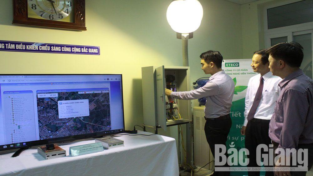 khoa học, công nghệ, đèn chiếu sáng công cộng, Bắc Giang, đô thị