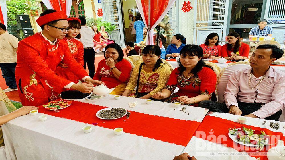 cưới, tang, hiếu, hỷ, nếp sống văn minh, Bắc Giang, TP bắc Giang