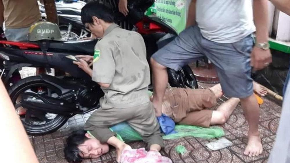 Cha con 'hiệp sĩ', bắt gọn kẻ trộm xe táo tợn, hiệp sĩ Trần Văn Hoàng, đối tượng Đoàn Thành Trọng