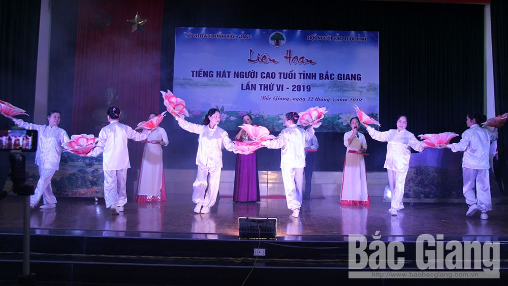 Bac Giang province, provincial music festival, older people,  sixth Music Festival, joint collaboration, cultural and art clubs, vibrant festive environment