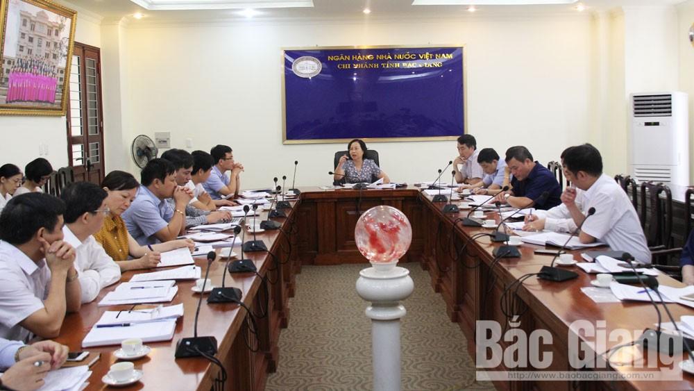 Tập trung, các giải pháp, nợ xấu, Bắc Giang,  tổ chức tín dụng, Phó Chủ tịch UBND tỉnh Bắc Giang, Ngân hàng Nhà nước