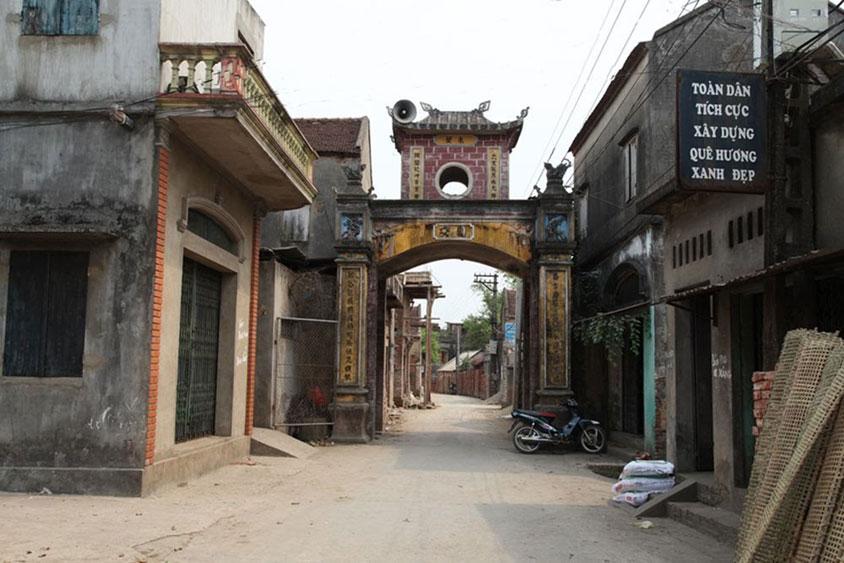 kết chạ, Yên Viên, Đống Gạo, Bắc Giang, làng Vân