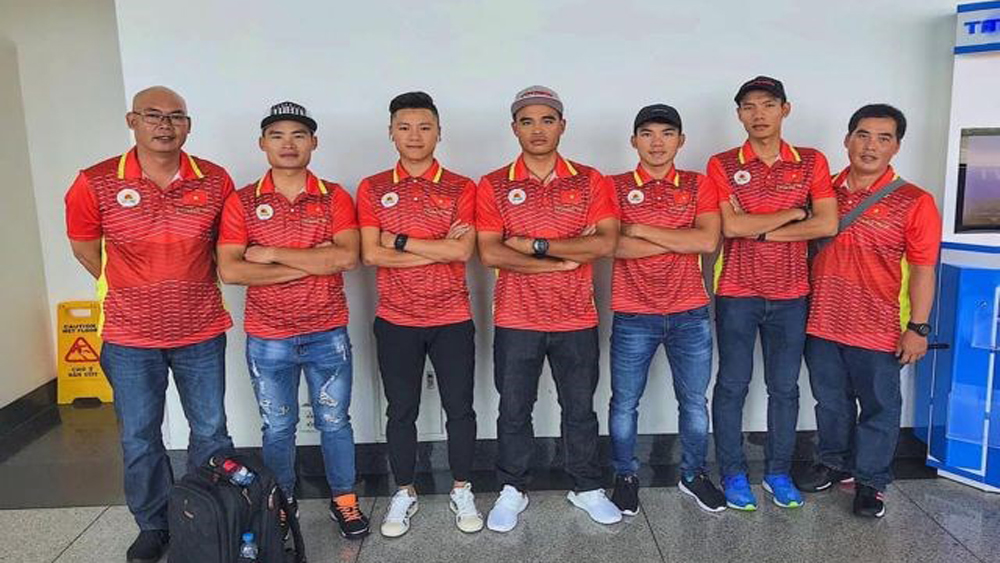 Vietnamese cyclists, PRUride PH 2019, Men's Elite Road Race, six-strong team, popular sport, tourism destination