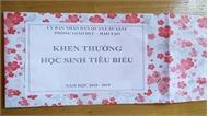 """Học sinh nhận phần thưởng """"rỗng ruột"""": Phòng Giáo dục và Đào tạo gửi thư xin lỗi"""