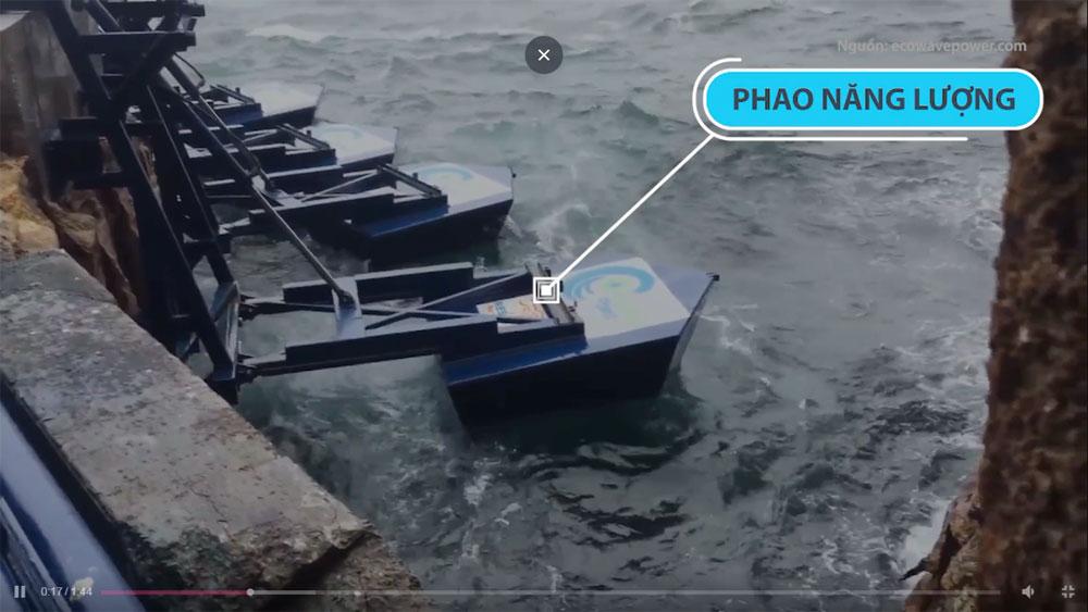 Công nghệ 'biến' sóng biển thành điện năng ở Israel