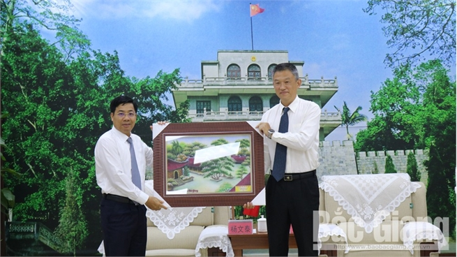 Providing optimal conditions for customs clearance of Bac Giang' lychee exported to China