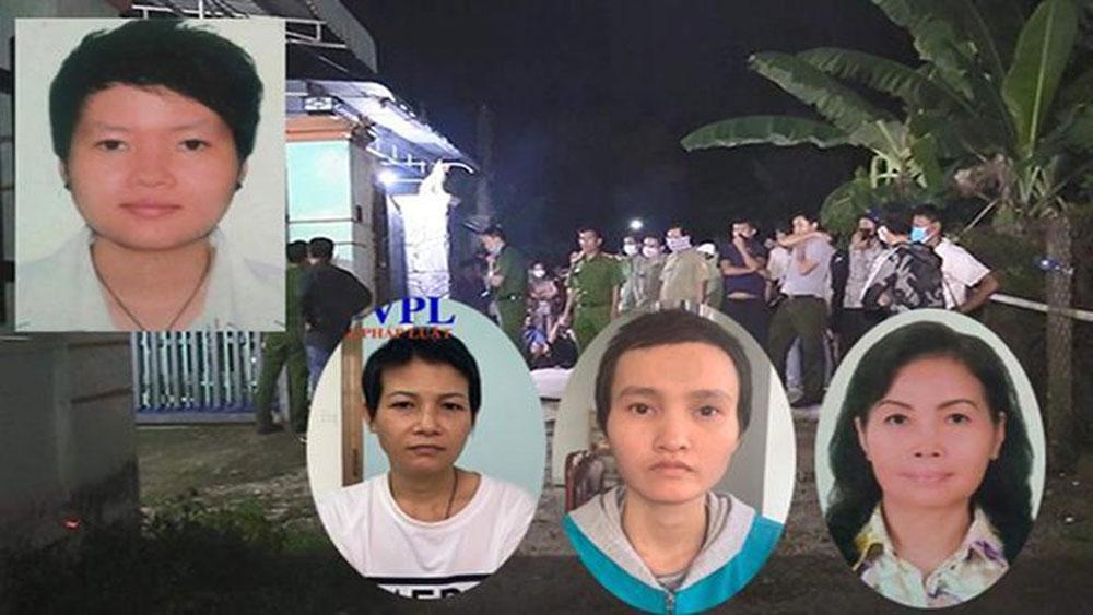Vụ 2 thi thể người bị đổ bê tông, Tìm ra nguyên nhân, lượng tiền, vàng, USD có trên xe ô tô,  Phạm Thị Thiên Hà