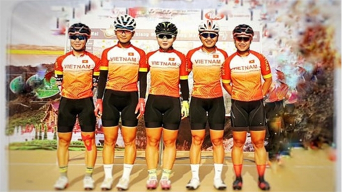 Thu Mai wins second stage of Tour of Zhoushan Island II