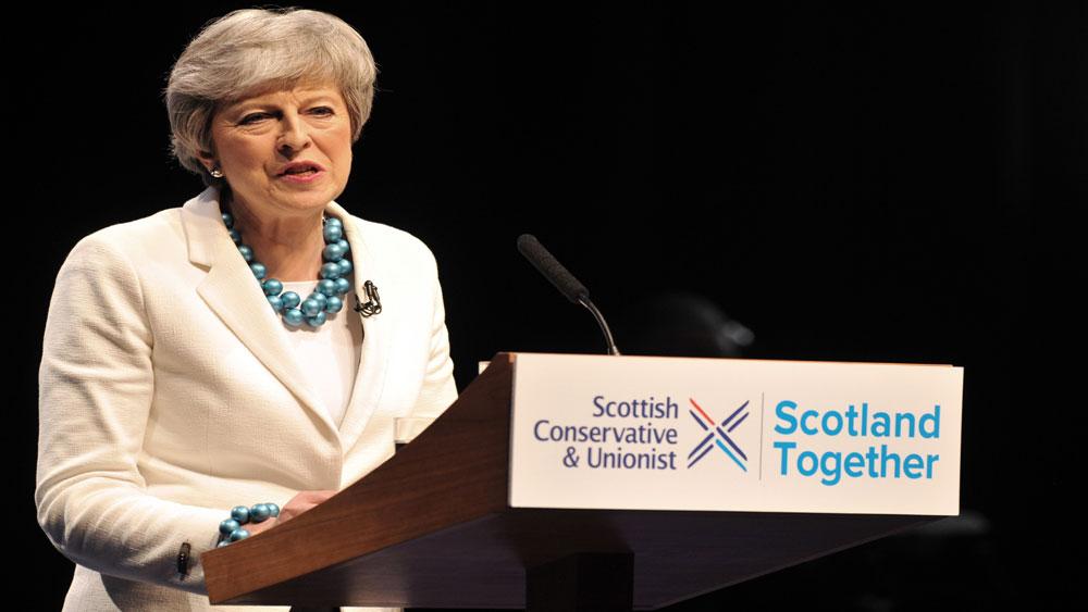 Thủ tướng Anh Theresa May, từ chức, ngày 7-6