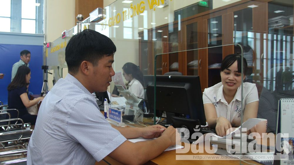 chỉ số cải cách hành chính, chỉ số, PAR INDEX 2018, Bắc Giang, nội vụ, Sở Nội vụ, cải cách, tụt hạng
