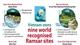 Nine world recognised Ramsar sites in Vietnam