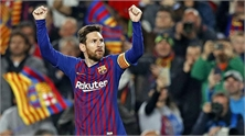 Messi lần thứ sáu đoạt Giày vàng châu Âu