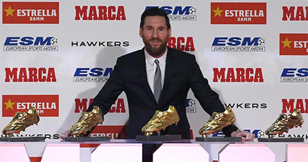 Messi, Giày Vàng, Chiếc Giày Vàng, Mbappe