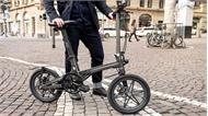 Xe đạp điện gấp chỉ có 12,5 kg