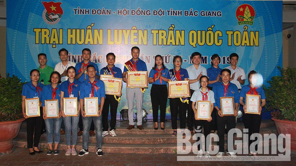 Anh Hoàng Văn Thịnh đạt thủ khoa trại huấn luyện Trần Quốc Toản