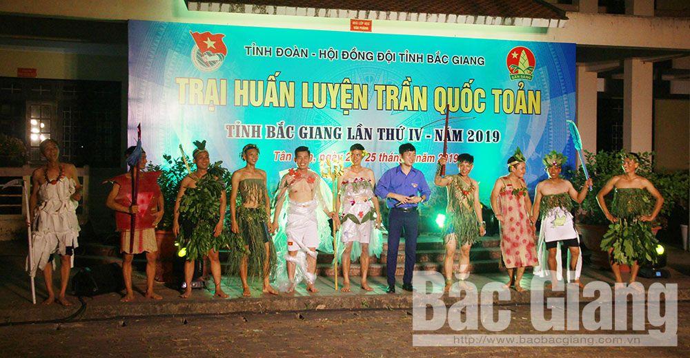 Bắc Giang, cán bộ đoàn, trại huấn luyện Trần Quốc Toản, huấn luyện kỹ năng phòng tránh xâm hại tình dục, bạo lực học đường