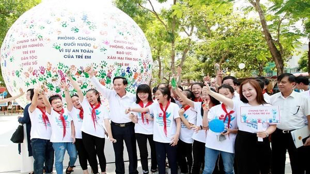 Action Month for Children 2019 launched in Thanh Hoa