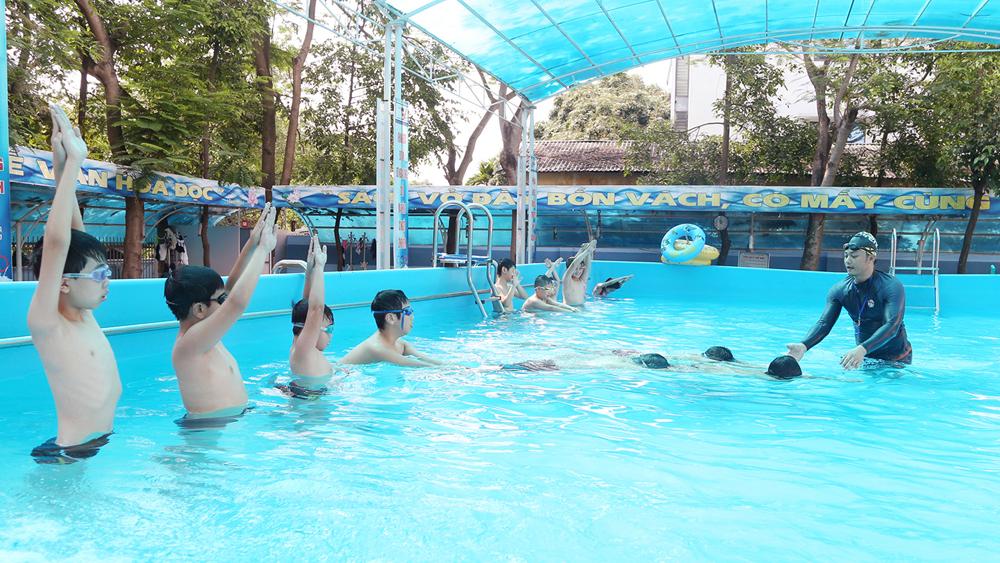 Nghỉ hè , học sinh, kỹ năng sống, vui chơi, đuối  nước, tai nạn thương tích