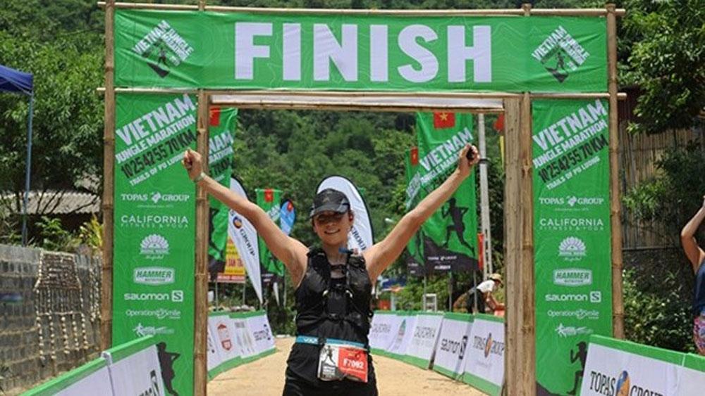 1,,000 runners, Vietnam Jungle Marathon 2019, foreign and domestic runners,  foreign and domestic runners, local sporting spirit, tourism promotion