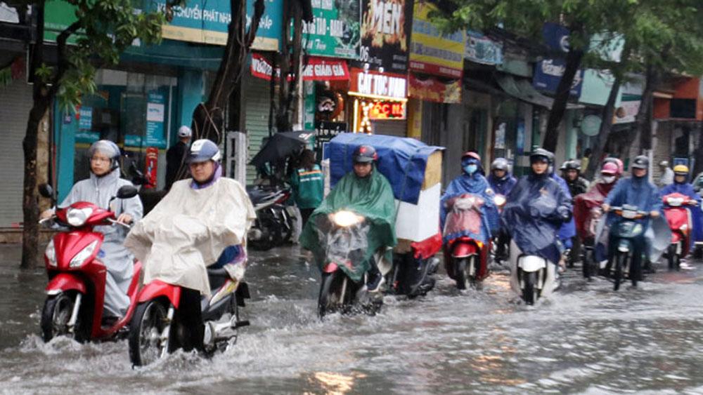 Bắc Bộ, Bắc Trung Bộ, mưa lớn diện rộng