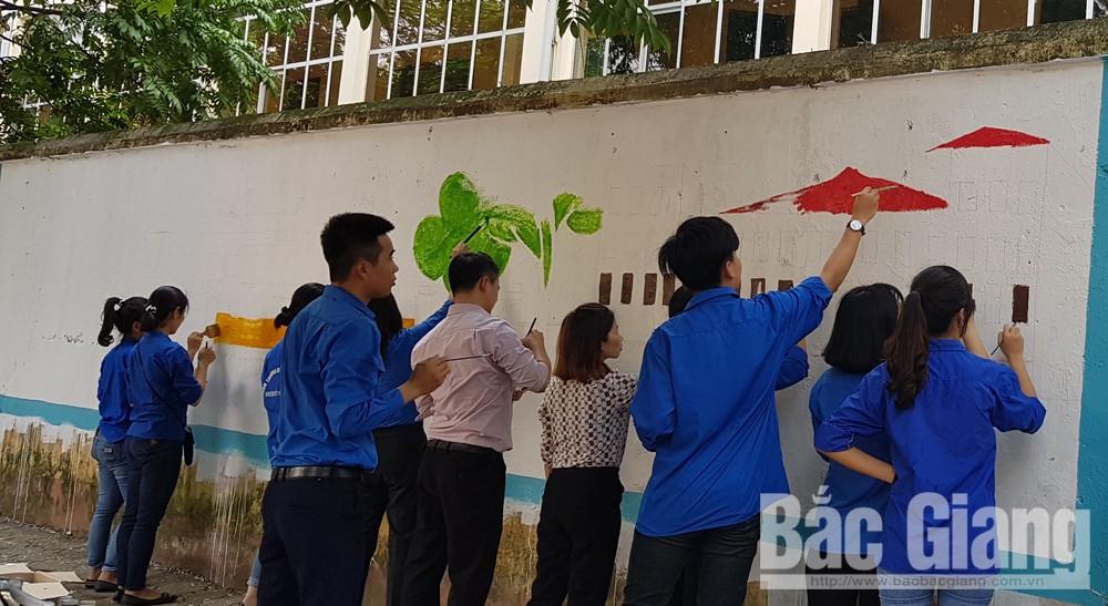 Thành đoàn Bắc Giang, hè 2019, chiến dịch TNTN, Bắc Giang