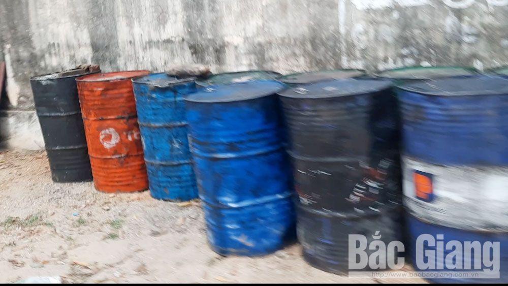 Tái diễn, hoạt động, tái chế, dầu thải, tại, xã Mai Trung, Hiệp Hòa, Bắc Giang, Công ty TNHH một thành viên Đường Tuyết, ô nhiễm môi trường