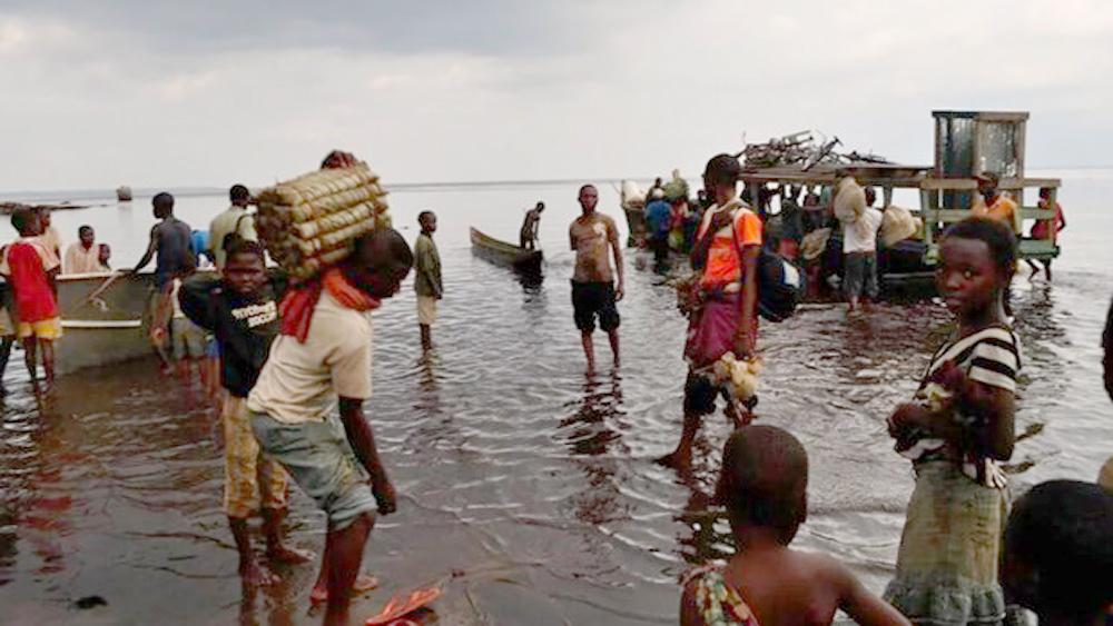 Chìm tàu, Cộng hòa dân chủ Congo, hơn 100 người mất tích, giao thông đường thủy
